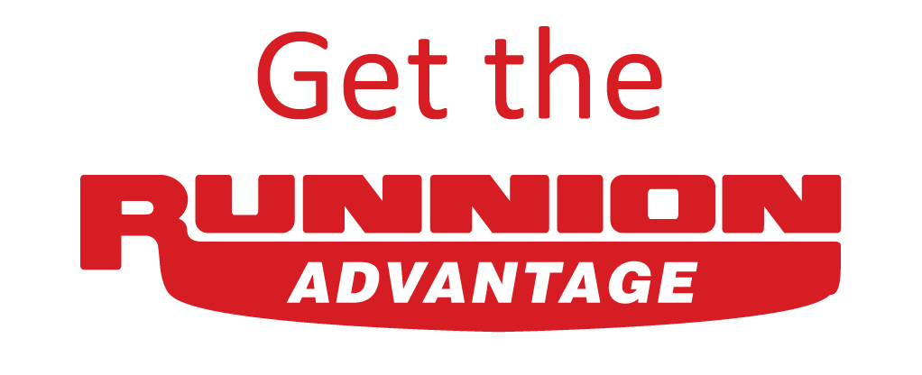 Get the Runnion Advantage